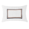 Bandhini Homewear Design Lumber Cushion White / Primitive / 35 x 53 Braid Cayman White Lumber Cushion 35 x 53 cm