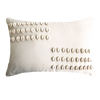 Bandhini Homewear Design Lumber Cushion White / 35 x 53 Shell Kauri White Lumber Cushion 35 x 53 cm
