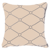 Bandhini Homewear Design Medium Cushion Beige / 20 x 20 Outdoor Dots Beige Medium Cushion 50 x 50 cm