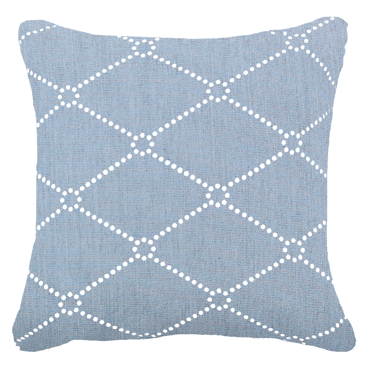 Bandhini Homewear Design Medium Cushion Cloud / 20 x 20 Outdoor Dots Cloud Medium Cushion 50 x 50 cm
