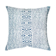 Bandhini Homewear Design Medium Cushion Black / 20 x 20 Inner Paths Navy Medium Cushion 50 x 50 cm
