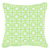 Net Neon Lime Print Medium Cushion 50 x 50 cm