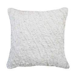 Bandhini Homewear Design Medium White / 20 x 20 inches Butterfly Tips White Medium Cushion 50 x 50cm