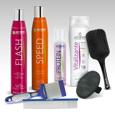 Wire Coat Grooming Pack