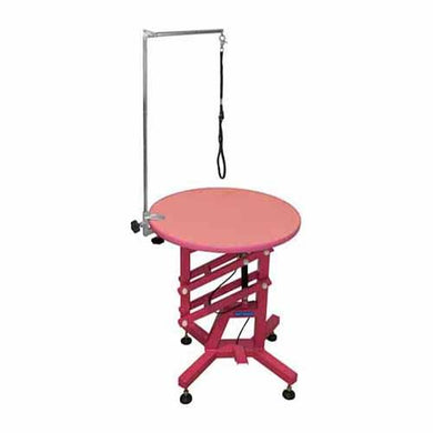 Table Air Pink, Round 2 ft (Showroom Set)