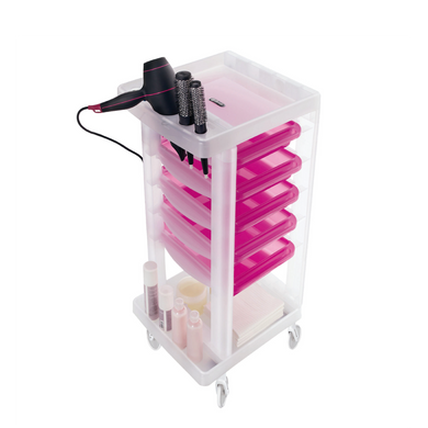Work Trolley Pink (CLEARANCE PRICE) - ARTERO Singapore