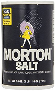 MORTON PLAIN SALT 26 OZ