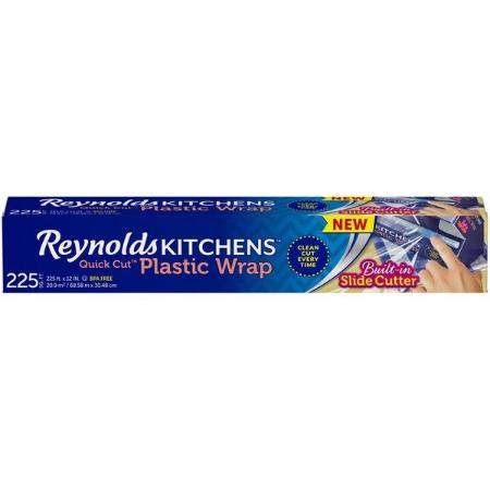 REYNOLDS KITCHEN QUICK CUT PLASTIC WRAP 225 SF