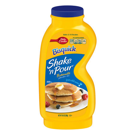 BETTY CROCKER BISQUICK BUTTERMILK PANCAKE SHAKE N' POUR 10.6 OZ