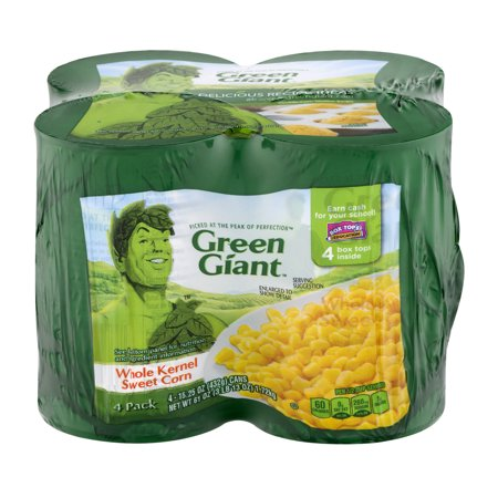 GREEN GIANT WHOLE KERNEL SWEET CORN 15.25 OZ 4PK