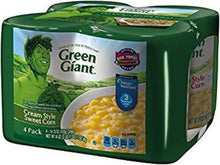 GREEN GIANT CREAM STYLE SWEET CORN 14.75 OZ 4PK