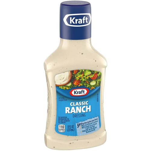 KRAFT CLASSIC RANCH DRESSING 8 OZ