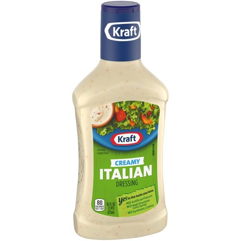 KRAFT CREAMY ITALIAN SALAD DRESSING 16 OZ