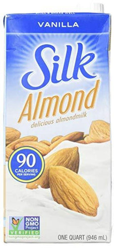 SILK ALMOND VANILLA MILK 32 OZ