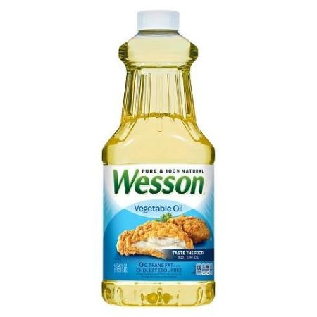 WESSON VEGETABLE OIL 48 OZ