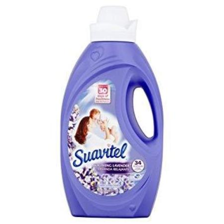 SUAVITEL LIQUID FABRIC CONDITIONER LAVENDAR 50 OZ