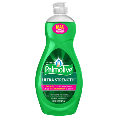 PALMOLIVE ULTRA STRENGTH DISHWASHING LIQUID 20 OZ
