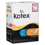 KOTEX LIGHTDAYS UNSCENTED LINERS 64 COUNT