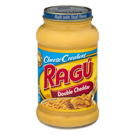 RAGU DOUBLE CHEDDAR CHEESE CREATIONS SAUCE 21.5 OZ