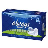 ALWAYS LARGE SUPER MAXI PADS with FLEXI-WINGS