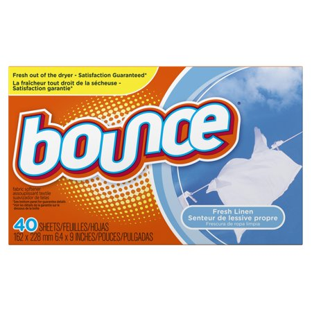 BOUNCE GENTLE BREEZE FRESH LINEN DRYER SHEETS 40 COUNT