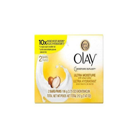 OLAY ULTRA MOISTURE BEAUTY BARS 3.75 OZ 2 COUNT