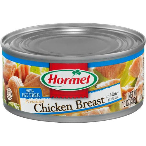 HORMEL CHUNK CHICKEN BREAST 10 OZ