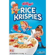 KELLOGS RICE KRISPIES BREAKFAST CEREAL 12 OZ
