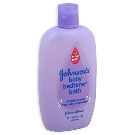 JOHNSON & JOHNSON BABY BEDTIME BATH 15OZ