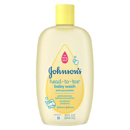 JOHNSON & JOHNSON HEAD-TO-TOE BABY WASH 15 OZ