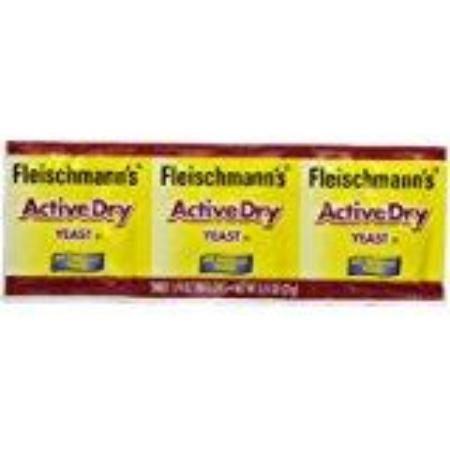 FLEISCHMANN YEAST DRY ACTIVATED 3PK .75 OZ