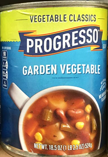 PROGRESSO VEGETABLE CLASSIC GARDEN VEGETABLE 18.8 OZ