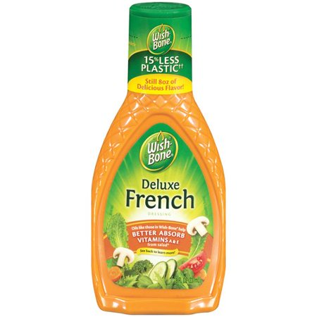 WISH BONE DELUXE FRENCH SALAD DRESSING 15 OZ