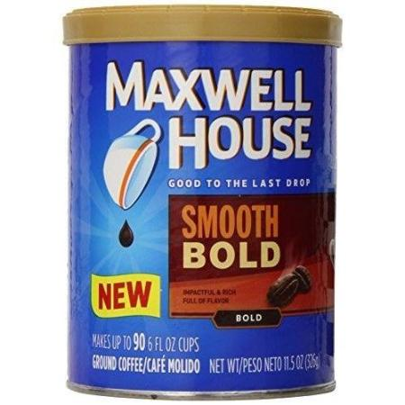 MAXWELL HOUSE SMOOTH BOLD GROUND COFFEE 11.5 OZ