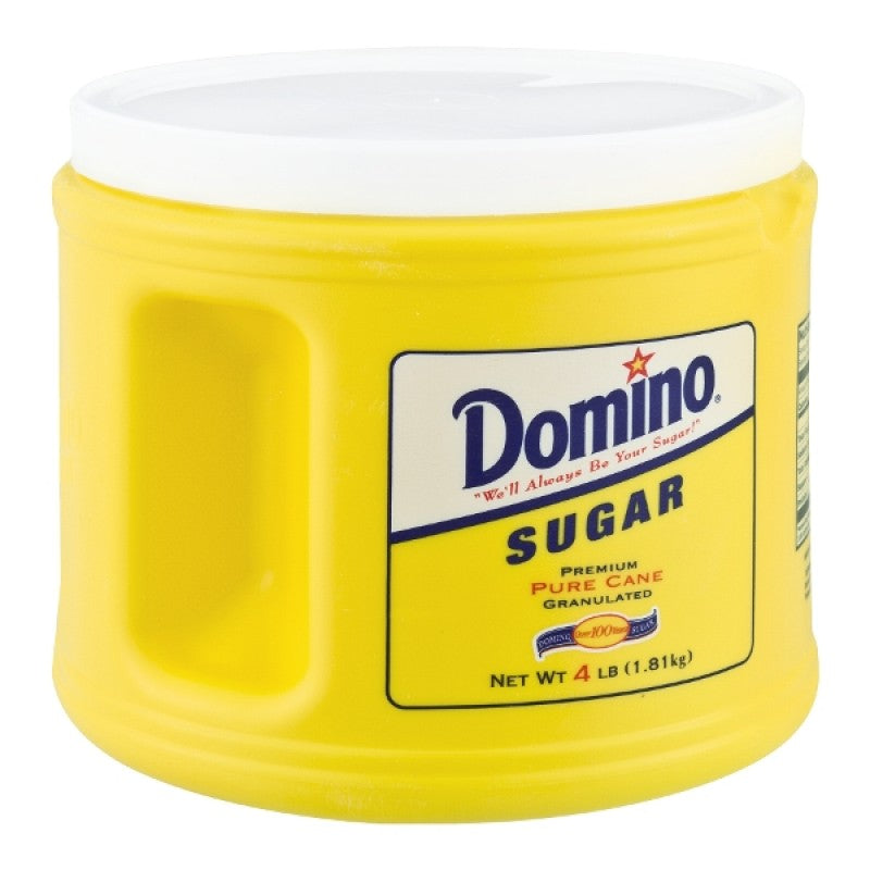 DOMINO GRANULATED SUGAR 4 LB