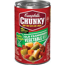 CAMPBELL'S CHUNKY HEALTY REQUEST VEGETABLE BEEF SOUP 18.8OZ