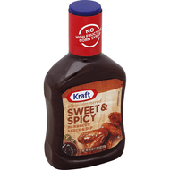 KRAFT BBQ SAUCE SWEET & SPICY 18 OZ