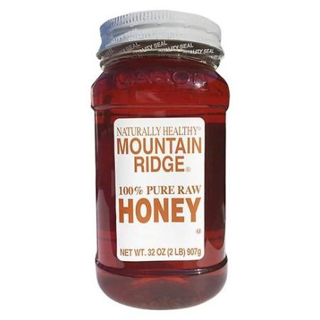MOUNTAIN RIDGE HONEY PURE RAW 32oz
