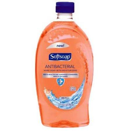 SOFTSOAP ANTIBACTERIAL HAND SOAP REFILL ORANGE 32 OZ