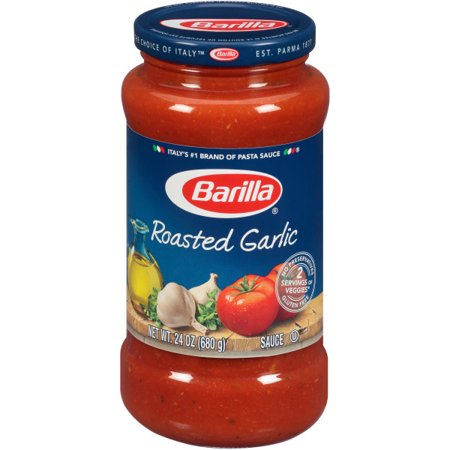BARILLA ROASTED GARLIC PASTA SAUCE 24 OZ