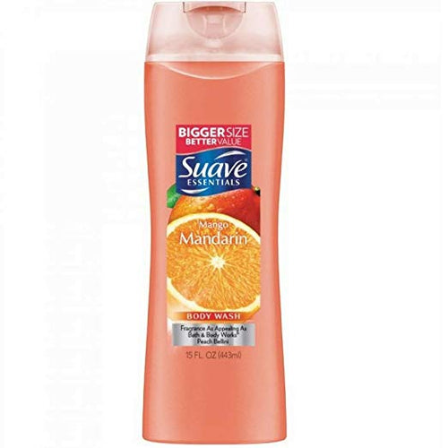 SUAVE MANGO MANDARIN BODY WASH 15OZ