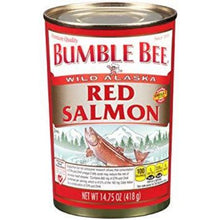 BUMBLE BEE WILD ALASKA RED SALMON 14.75 OZ