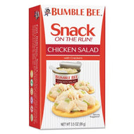 BUMBLE BEE ON THE RUN CHICKEN SALAD WITH CRACKERS 3.5 OZ