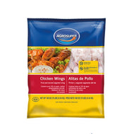 AGROSUPER IQF PARTY CHICKEN WINGS 10 LBS