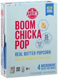 ANGIES MICROWAVE POP CORN REAL BTR 13.6 OZ 6 CT***SHIP TO ORDER BY NOON ON MONDAY'S ARRIVING THE FOLLOWING MONDAY FOR DELIVERY***