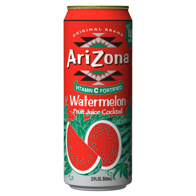 ARIZONA ARNOLD PALMER WATERMELON 23.5 OZ 24 COUNT***SHIP TO ORDER BY NOON ON MONDAY'S ARRIVING THE FOLLOWING MONDAY FOR DELIVERY***