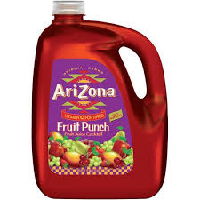 ARIZONA FRUIT PUNCH 128 OZ 4 COUNT #ROCK VALUE PRODUCT ORDER BY SUNDAY EVENING'S ARRIVING NEXT WEEKS' TUESDAY FOR DELIVERY#