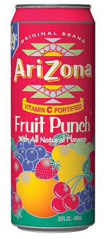 ARIZONA FRUIT PUNCH +CRV 23.5 OZ 24 COUNT #ROCK VALUE PRODUCT ORDER BY SUNDAY EVENING'S ARRIVING NEXT WEEKS' TUESDAY FOR DELIVERY#