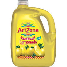 ARIZONA LEMONADE 128 OZ 4 COUNT #ROCK VALUE PRODUCT ORDER BY SUNDAY EVENING'S ARRIVING NEXT WEEKS' TUESDAY FOR DELIVERY#