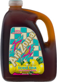ARIZONA LEMON ICE TEA 128 OZ 4 COUNT #ROCK VALUE PRODUCT ORDER BY SUNDAY EVENING'S ARRIVING NEXT WEEKS' TUESDAY FOR DELIVERY#